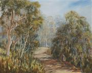 Sale 8686 - Lot 2041 - Kathy OShannessy - The Old Timer Swagman 39 x 49cm