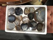 Sale 8868 - Lot 1199 - Tray of Natural Polished Agates