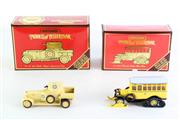 Sale 8960T - Lot 42 - Matchbox Models of Yesteryear 1920 Rolls Royce together with a 1923 Post Bus