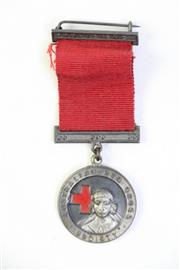 Sale 8994W - Lot 693 - An Australian Red Cross Medal for Proficiency, issued by Angus and Coote