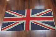 Sale 8288 - Lot 41 - Large Union Jack Flag