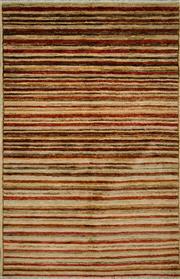 Sale 8439C - Lot 87 - Afghan Chobi Stripe 150cm x 95cm