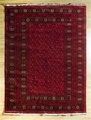 Sale 8700C - Lot 18 - Afghan Qunduzi 280cm x 204cm