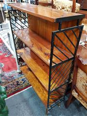 Sale 8700 - Lot 1023 - Retro Open Bookshelf