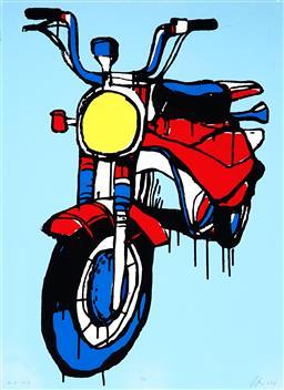 Sale 9021 - Lot 551 - Jasper Knight (1978 - ) - 110, 2018 73 x 56 cm (frame: 91 x 70 x 4 cm)