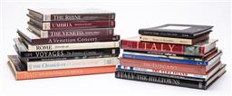 Sale 9170H - Lot 61 - A collection of Rome related reference books