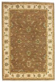 Sale 8536A - Lot 38 - A Zinglar Natural Handspun Wool Carpet India 143cm x 85cm RRP $660.00