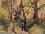 Sale 8663 - Lot 2034 - Eileen Berndt (1910 - 1992) - Sunset 24.5 x 31.5cm