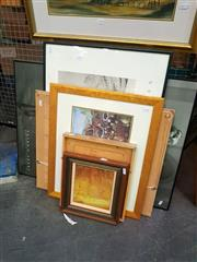 Sale 8668 - Lot 2069 - Group of Assorted Original Paintings and Photographic Posters (framed/various sizes)