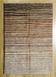 Sale 8700C - Lot 19 - Afghan Stripe Chobi 177cm x 120cm