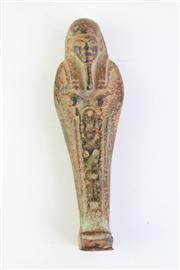 Sale 8802 - Lot 348 - An Egyptian bronze ushabti