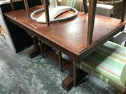 Sale 8868 - Lot 1513 - Twin Pedestal Dining Table