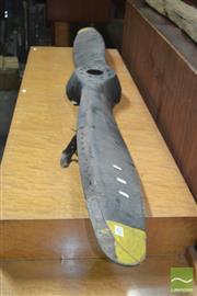 Sale 8338 - Lot 1011 - Vintage Timber Plane Propeller