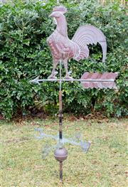 Sale 8422A - Lot 31 - An early weather vane, height 130cm