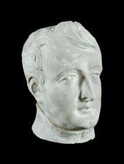 Sale 8620A - Lot 24 - A vintage French Napoleon Bonaparte plaster bust, H 30cm