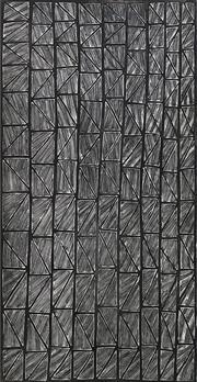 Sale 8696 - Lot 582 - Terry Ngamandarra (c1952 - ) - Gulach-Spike Rush, 1999 100 x 55cm