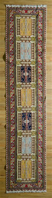 Sale 8680C - Lot 34 - Fine Persian Sumak 390cm x 75cm