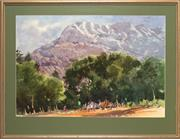 Sale 8961 - Lot 2033 - Allan Waite (1924 - 2010) - Mount Sainte-Victoire, Southern France 59 x 88 cm (frame: 81 x 106 x 3 cm)