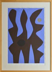 Sale 8960J - Lot 76 - John Coburn - Abstract oil on paper