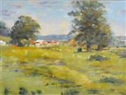Sale 8323A - Lot 58 - Reginald George Rowe (1916 - 2010) - The Farm 24 x 29cm