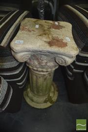 Sale 8337 - Lot 1062 - Roman Style Pedestal