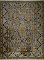 Sale 8402C - Lot 60 - Persian Kashan 384cm x 271cm