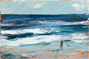 Sale 8439A - Lot 16 - Laura Matthews - Beachscape, Study II 40 x 60cm