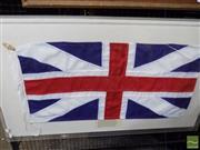 Sale 8455 - Lot 1067 - Australian Union Flag (frame size: 68 x 116cm)