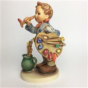 Sale 8456B - Lot 17 - Hummel Figure of a Boy Artist