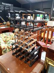 Sale 8676 - Lot 1137 - Three Small Wine Racks