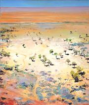 Sale 8947 - Lot 516 - Neroli Weaver (1965 - ) - Meandering Track, W.A. 95 x 80 cm (total: 95 x 80 x 3 cm)