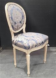 Sale 9071 - Lot 1016 - Pair of French Style Carved Dining Chairs