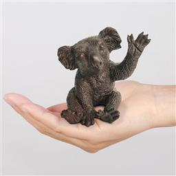 Sale 9174JM - Lot 5066 - GILLIE AND MARC Peter the Koala says hi bronze sculpture ed. 20/100 11.5 x 8.5 x 10.5 cm inscribed