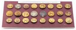 Sale 9190E - Lot 23 - A selection of uniform buttons for ships trading to Australia