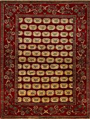 Sale 8418C - Lot 51 - Afghan Chobi 200cm x 155cm