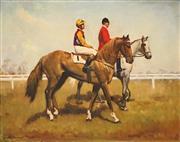 Sale 8652 - Lot 591 - Dudley Drew (1924 - 2015) - Altai Kahn 66 x 83cm
