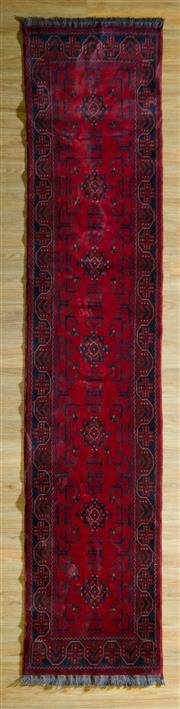 Sale 8700C - Lot 22 - Afghan Khal Mohamadi 400cm x 80cm