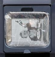 Sale 8709 - Lot 1067 - A Georg Jensen photo frame in original box, 17cm x 12cm