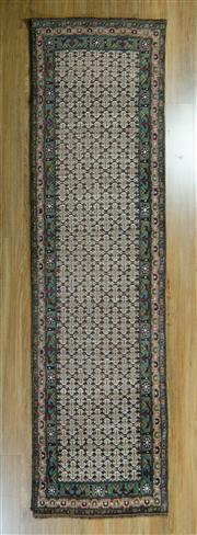 Sale 8717C - Lot 43 - Persian Moud 281cm x 76cm