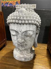 Sale 8876 - Lot 1014 - Large Buddha Head