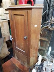 Sale 8925 - Lot 1069 - A georgian pine corner cabinet