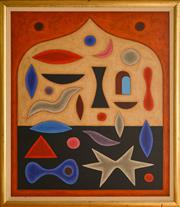 Sale 8960J - Lot 75 - John Coburn - Abstract oil on canvas,