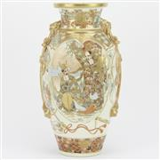 Sale 8342 - Lot 76 - Meiji Satsuma Vase
