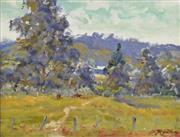 Sale 8323A - Lot 50 - Reginald George Rowe (1916 - 2010) - Kangaroo Valley 24 x 29cm