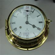 Sale 8369 - Lot 34 - Royal Mariner Clock (key in office)