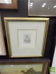 Sale 8483 - Lot 2010 - Petr Herel (1943 - ) - Untitled (Opera Series) 7.5 x 6cm (frame size: 37 x 33cm)