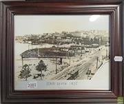 Sale 8600 - Lot 2081 - Bondi circa 1925 Framed Scene