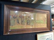 Sale 8895 - Lot 2092 - Henri Cassiers (1858 - 1944) - Dutch Folk Scenes, colour lithograph, signed in the print -