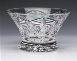 Sale 9093 - Lot 27 - Waterford Millennium Series Footed Bowl (Dia15.5cm)