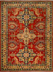 Sale 8412C - Lot 18 - Afghan Kazak 200cm x 150cm